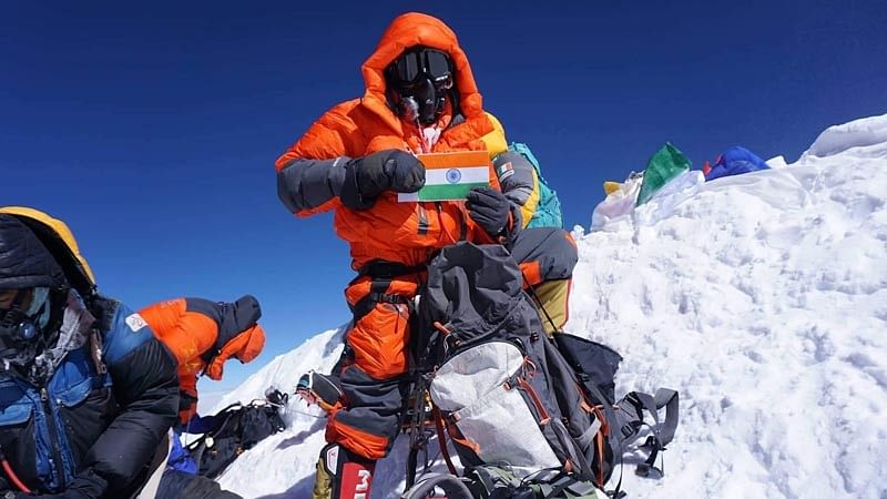 Indian scales two highest ranges in just six days