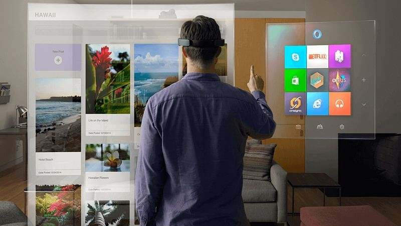 Augmented reality affects behaviour