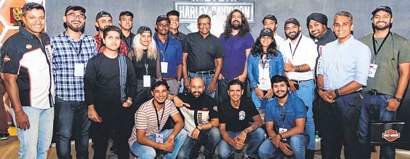 Harley-Davidson announces winners