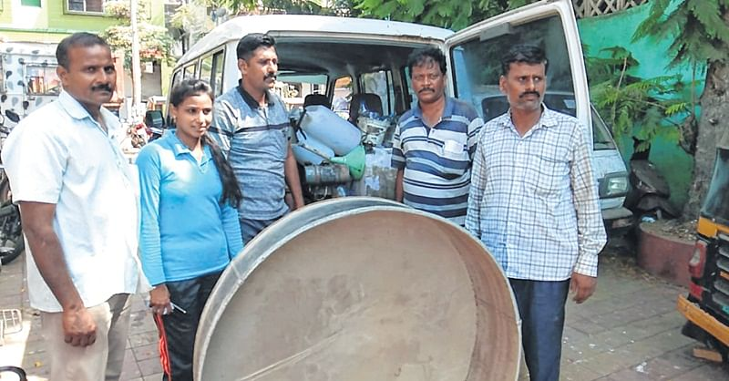 Hooch brewing unit busted in Bhayandar
