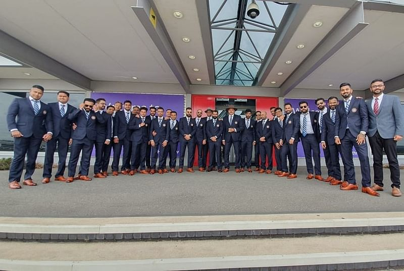 World Cup 2019: Virat Kohli, MS Dhoni, other Indian cricketers in high spirits at United Kingdom