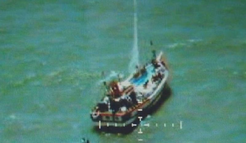 Pakistani fishing boat with 194 packets of narcotics seized by Indian Coast guard