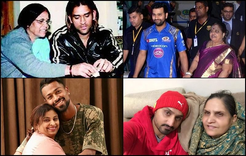 Happy Mother's day! Pictures showing lovely bond between Indian cricketers and their mothers