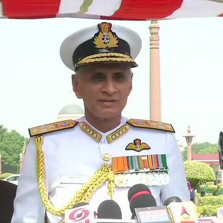 Indian Navy's long-term plan is to have 3 aircraft carriers: Navy Chief