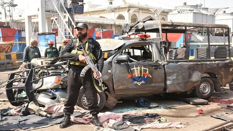 Pak authorities identify Afghan national as suicide bomber at Lahore shrine blast