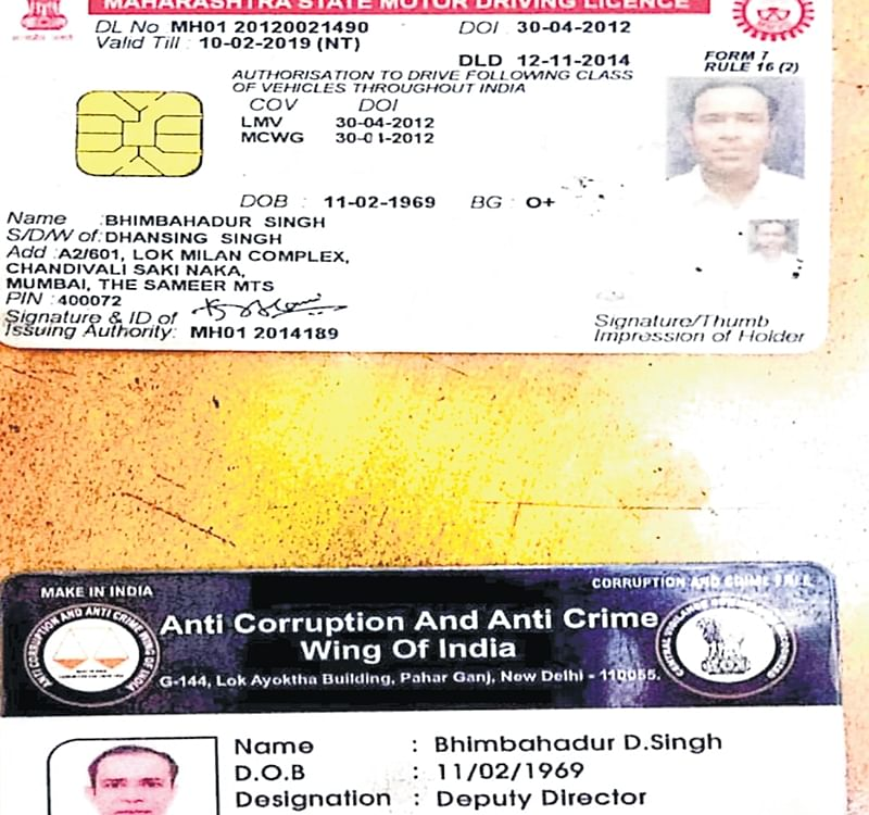Mumbai: Man held for impersonation, threatening a cop at Powai