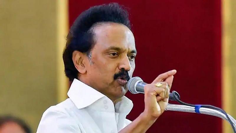 DMK leader M K Stalin