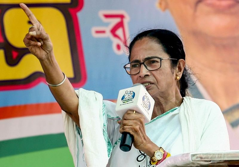 You broke Vidyasagar's statue and are saying we will make another one: Mamata Banerjee lashes out at BJP