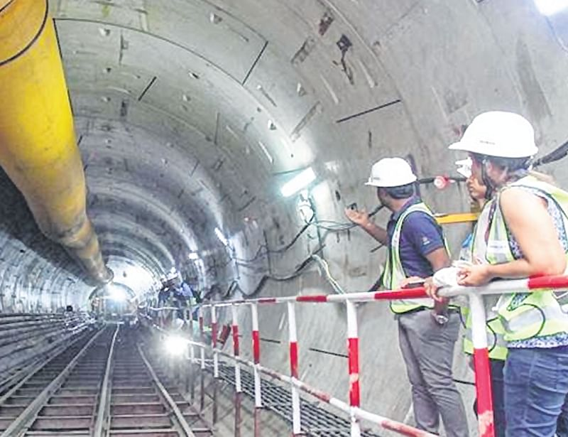 Mumbai: MMRCL completes more than 26 km of Metro 3 tunnelling work