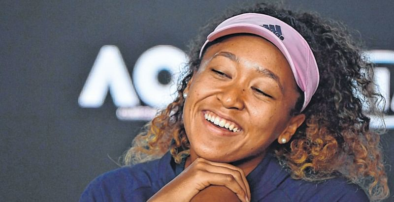 Naomi Osaka takes Paris in stride