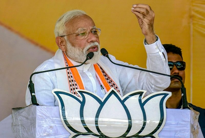 Congress, RJD will give free licenses to stone-pelters, naxals, tukde-tukde gang if voted to power, says PM Modi in Bihar