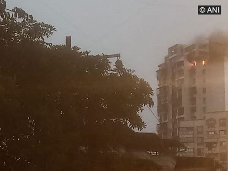 Fire breaks out at residential building in Navi Mumbai
