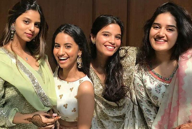 Suhana Khan looks beautiful as she goes traditional for a family wedding