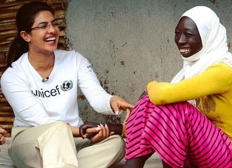 Pictures of Priyanka Chopra Jonas bonding with kids in Ethiopia are adorable!