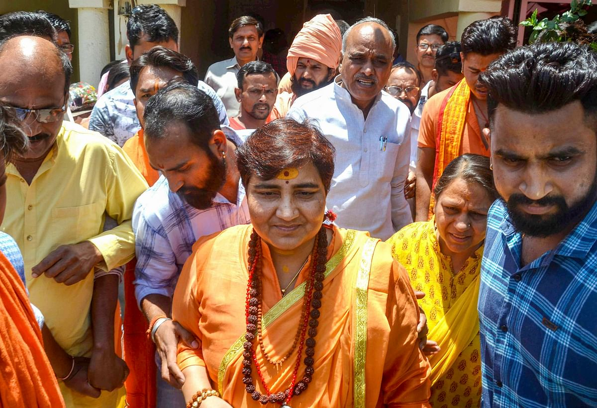 EC bars Pragya Singh Thakur for campaigning in Lok Sabha elections for 3 days for Babri Masjid remarks