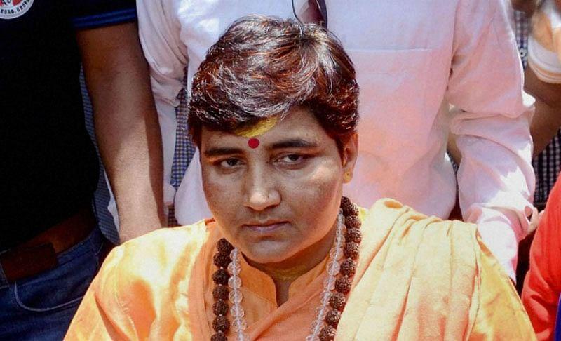 Bhopal: Sadhvi Pragya Thakur barred from campaigning for 72 hours