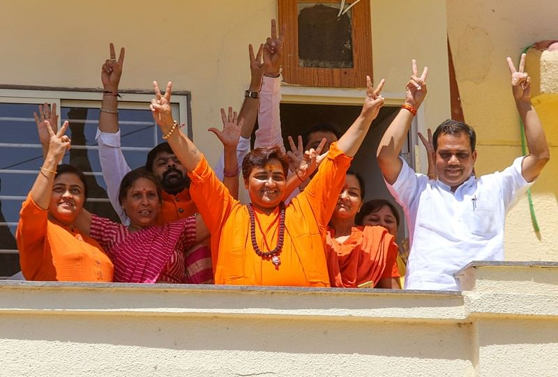 Pragya Singh Thakur wins first-ever Lok Sabha election; beats Digvijay Singh