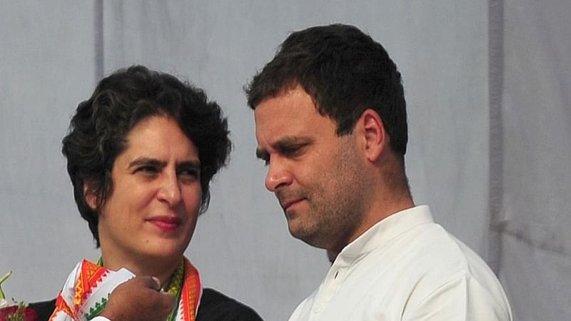 LS results: Priyanka meets Rahul as Congress stares at defeat