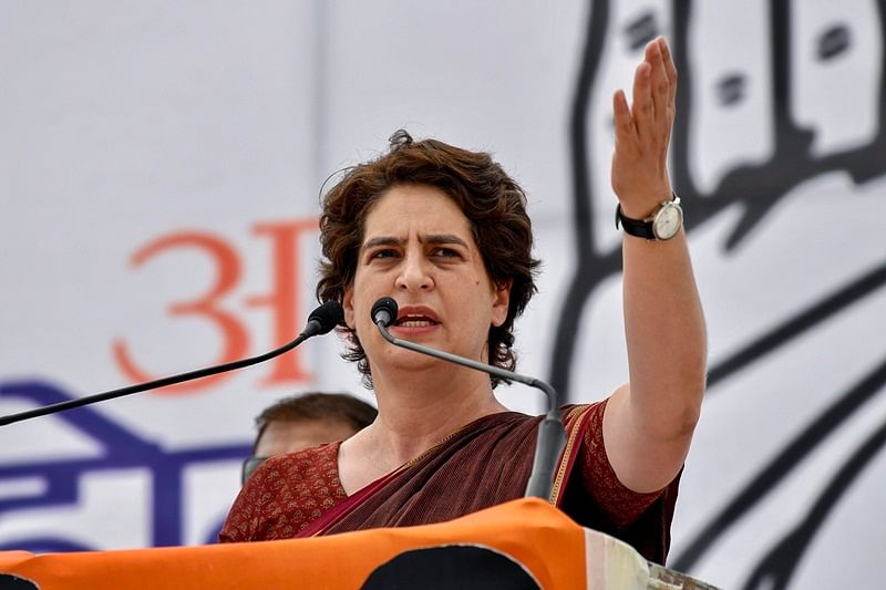 Narendra Modi arrogance like Duryodhana, nation will not pardon PM: Priyanka Gandhi Vadra
