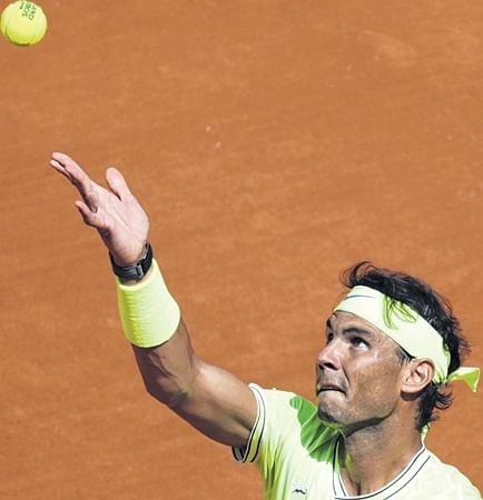 Rafael Nadal cruises, Caroline Wozniacki exits
