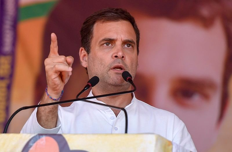 Rahul Gandhi finally apologises