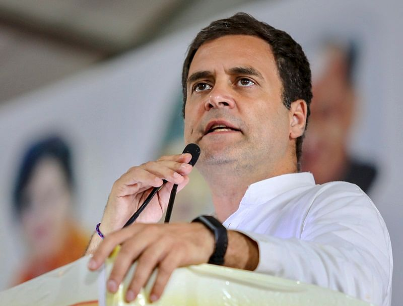 Rahul firm on quitting, Congressmen urge him to take resignation back