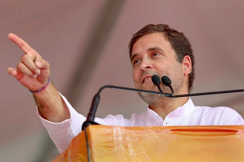 Poor people worst affected by note ban, GST: Rahul Gandhi at Maharashtra rally