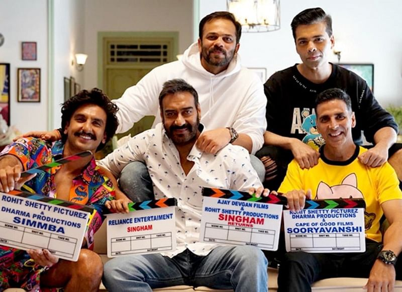 Rohit Shetty and Akshay Kumar begin Sooryavanshi with this epic reunion picture