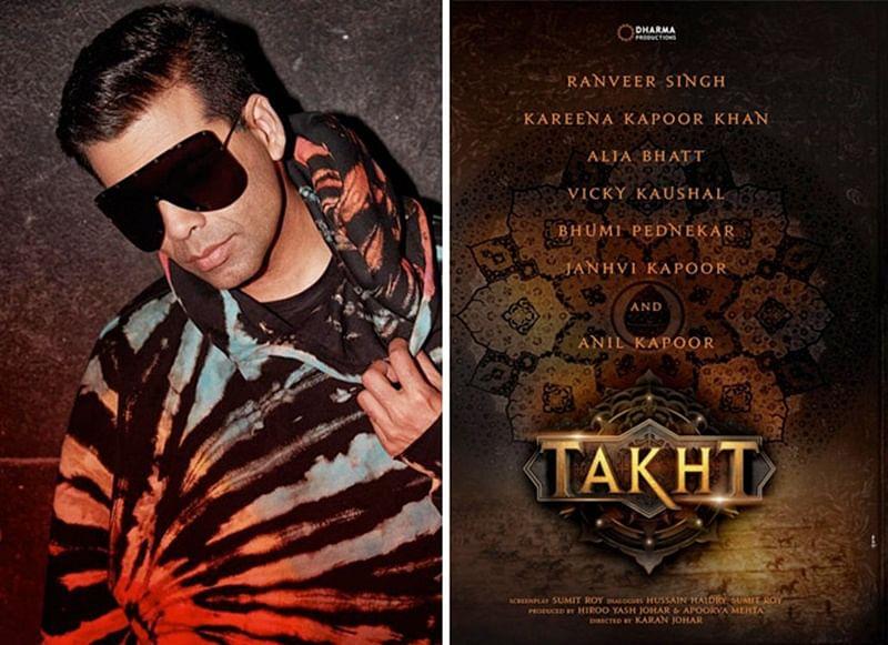 First schedule of Karan Johar's directorial Takht gets delayed
