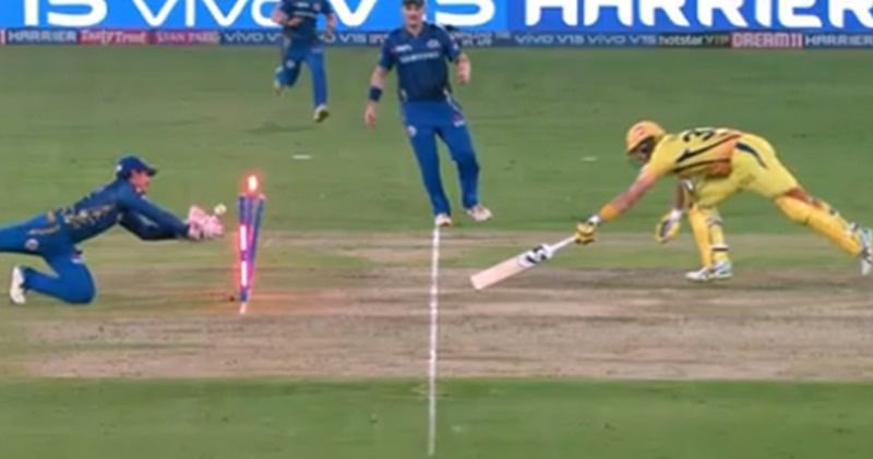 IPL 2019: Where's the replay…missing sir! Fans confused after full replay of Shane Watson's run-out not telecast