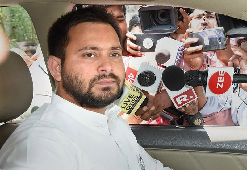 Party MLA demands Tejashwi Yadav's resignation from opposition leader post