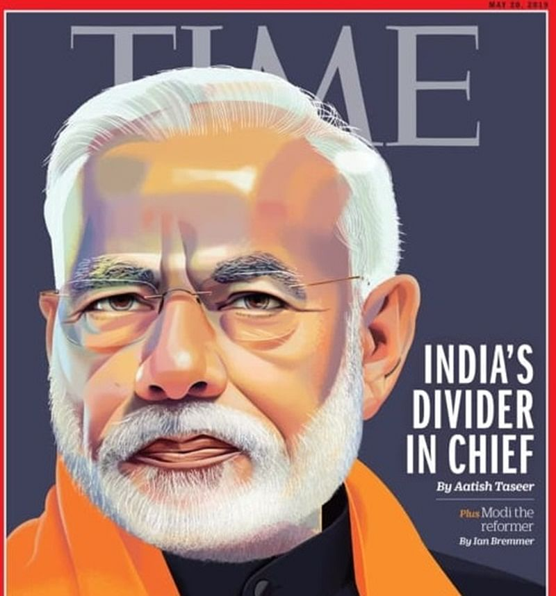 'India's Divider in Chief': PM Narendra Modi on Time magazine cover with controversial headline