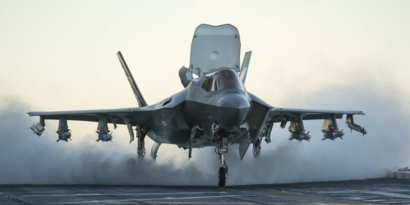 US stealth fighter suffers in damage from bird strike