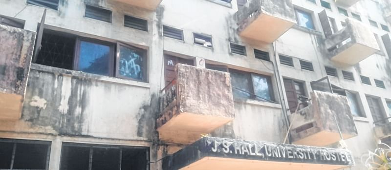 Broken doors, windows, false ceilings pose a threat to our lives: Students of Mumbai University hostel