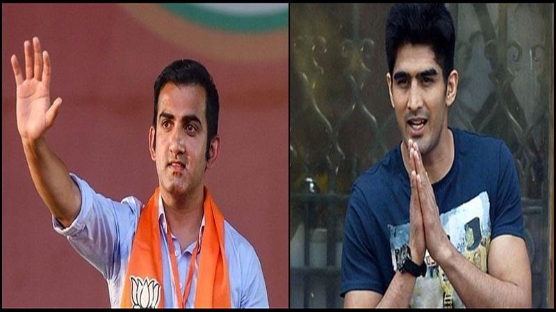 Gautam Gambhir to Vijender Singh: Performance of Indian sportsmen in Lok Sabha Election Results 2019