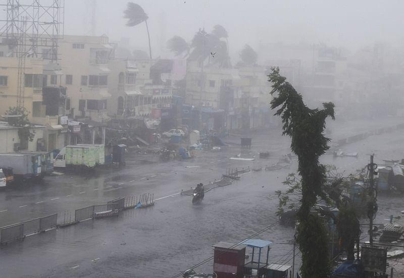 16 dead in Odisha in Cyclone Fani