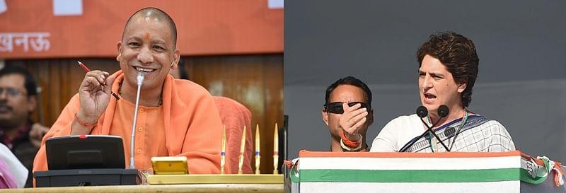 Yogi Adityanath, Priyanka Gandhi Vadra campaign in Amethi