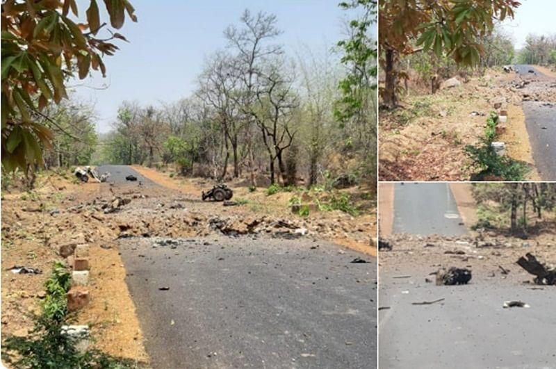 Maharashtra: Maoists blow up police vehicle in Gadchiroli; 15 troopers, driver killed