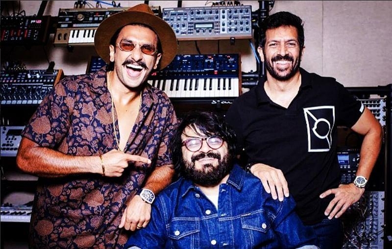 Ranveer Singh, composer Pritam team up to 'make an anthem'