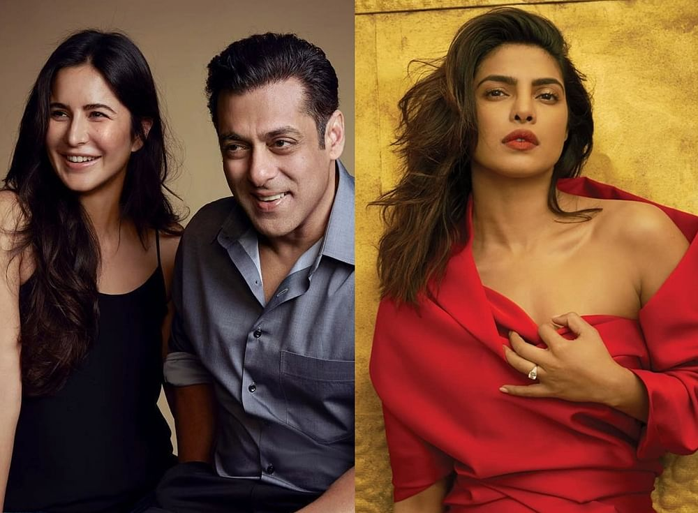 Salman Khan needs to stop comparing Priyanka with Katrina, and get over her rejection!