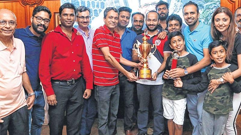 PJ Hindu Gymkhana champions