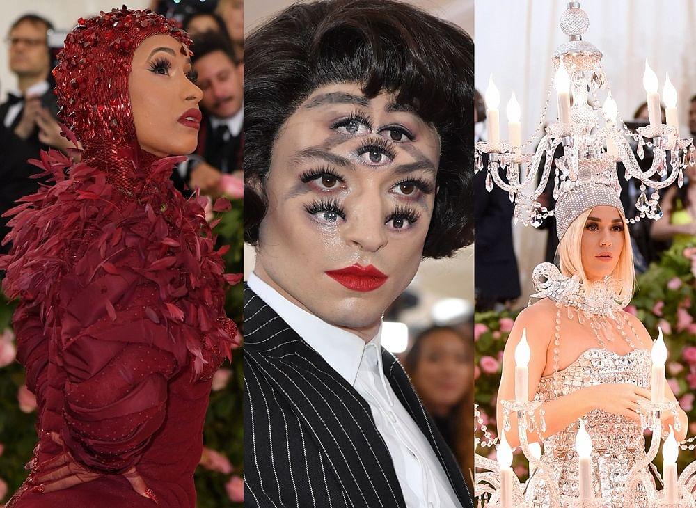 Chandelier, red velvet cupcake: Met Gala 2019 quirky appearances