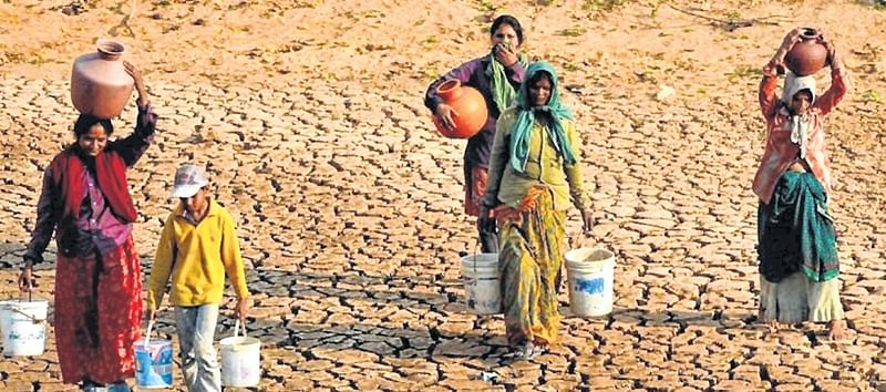 BJP government failed badly in protecting drought-affected villagers: Activist