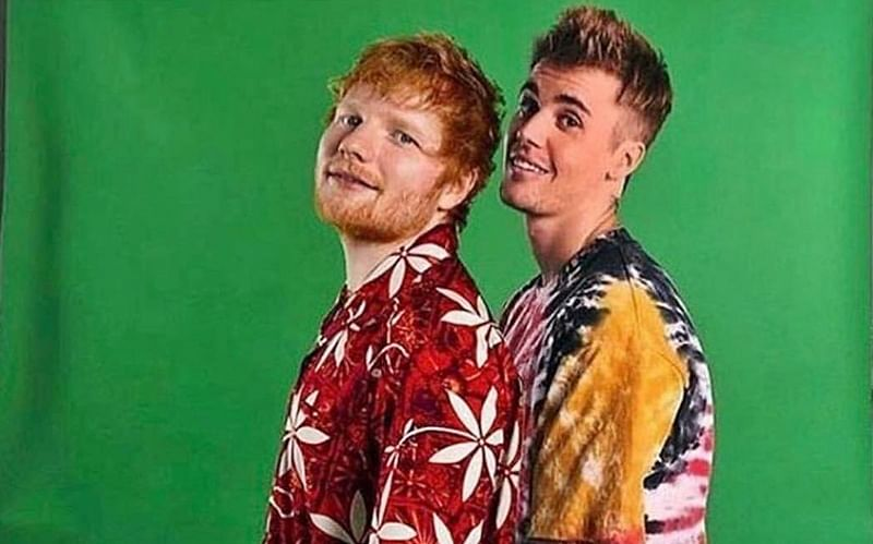 Justin Bieber, Ed Sheeran drop their new single 'I Don't Care'