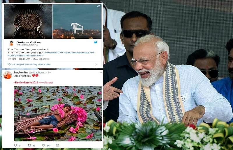 Lok Sabha Elections 2019: Twitter goes berserk as Modi cruises towards a landslide victory