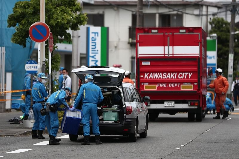 Japan: At least 2 dead, 17 injured after man attacks school children with knife in Kawasaki
