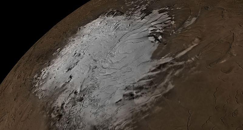 Huge water bodies found on Mars