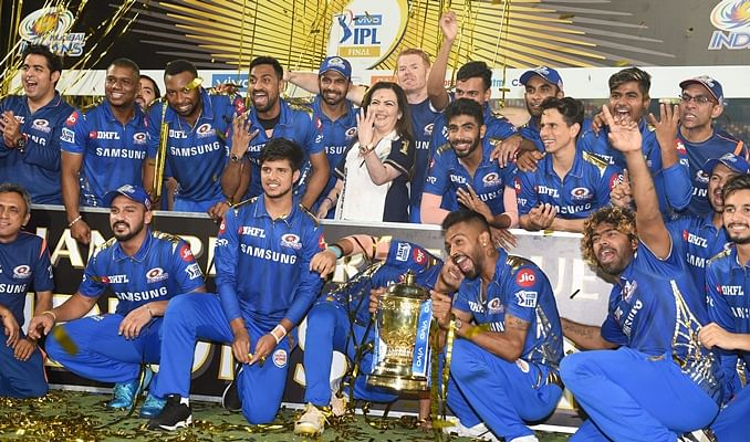 10 ecstatic pictures of Mumbai Indians' 4th IPL title triumph after thrilling victory over Chennai Super Kings