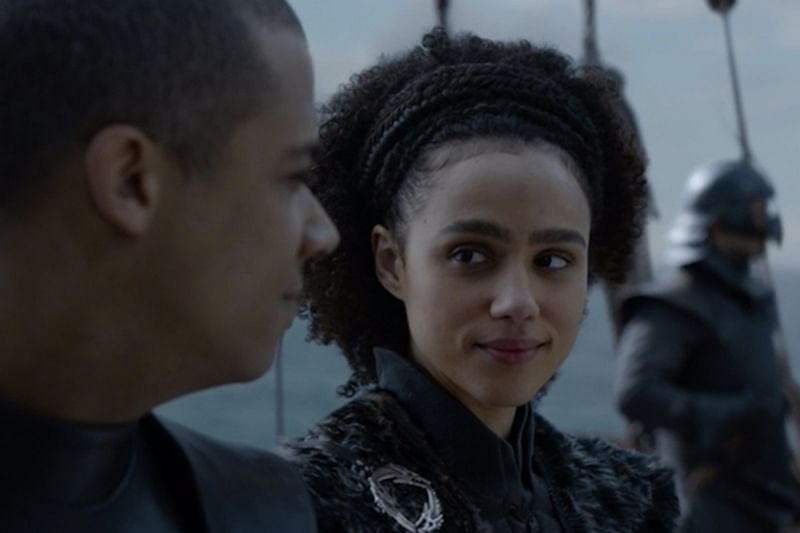 Game of Thrones: Grey Worm, Missandei do the running man challenge on sets; watch video