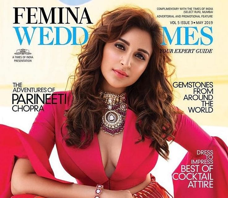 Parineeti Chopra poses as a cool bride for Femina Wedding Times cover
